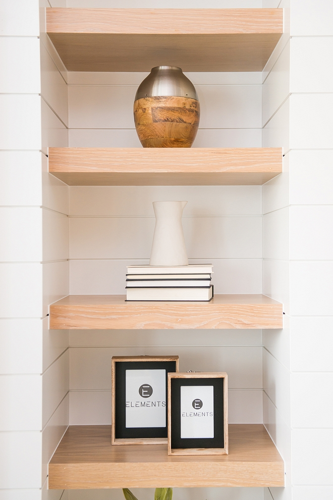 Builtin Floating Shelves Builtin Floating Shelves Shiplap and Floating Shelves