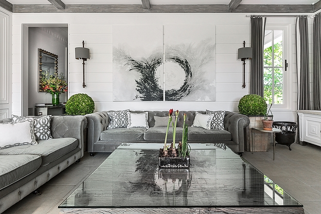 Art above sofa ideas