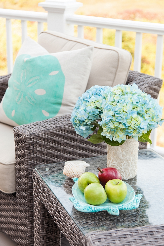 Turquoise outdoor decor ideas