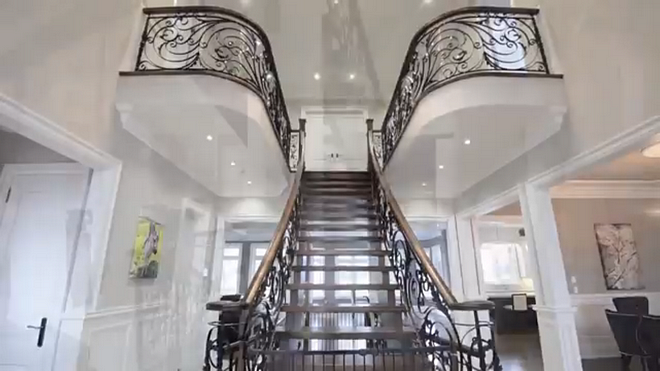 wrought iron railings staircase I custom designed the wrought iron railings The entrance to your home is the ultimate first impression The design of our home all started with the staircase