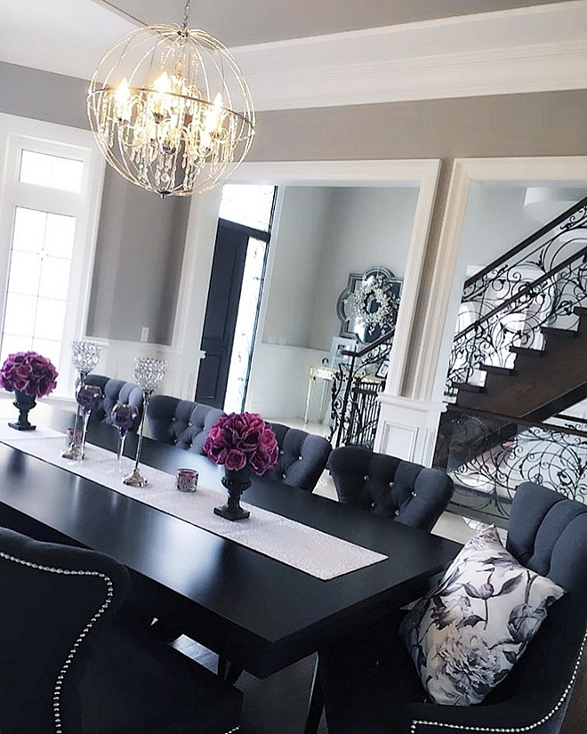 Black dining room table Black dining room table Black dining room table