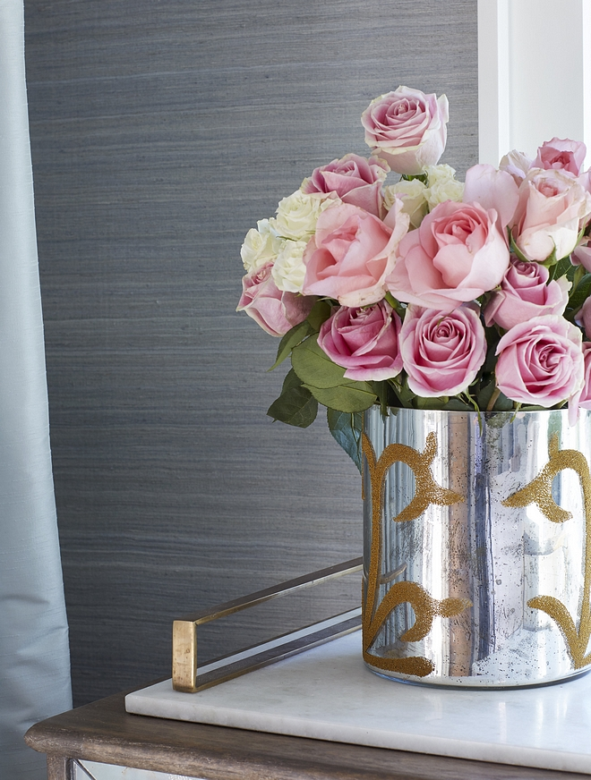 Bedroom fresh flower ideas Roses
