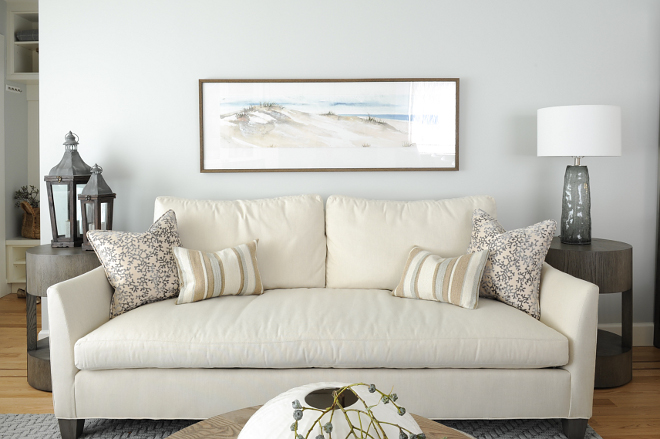Ivory Linen Sofa Sofa is Tully by Lee Industries Ivory Linen Sofa Pillow ideas Ivory Linen Sofa side table ideas Ivory Linen Sofa