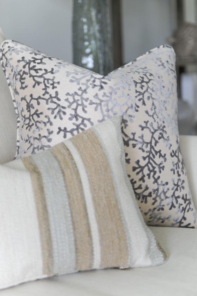 Neutral pillow combination ideas