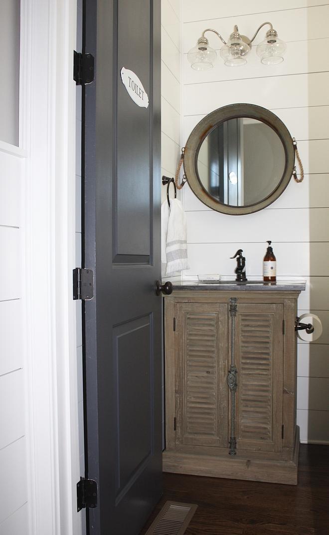 Shiplap Powder Room Farmhouse Shiplap Powder Room Farmhouse Bathroom Shiplap Powder Room Farmhouse Bathroom