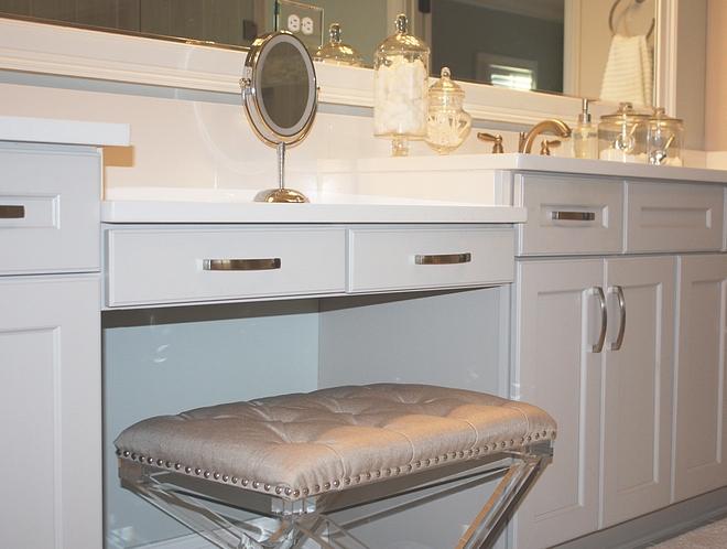 Bathroom cabinet hardware