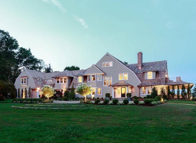 Shingle Home front elevation with Jeldwen Siteline windows