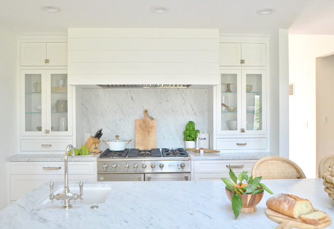Shiplap Kitchen Hood