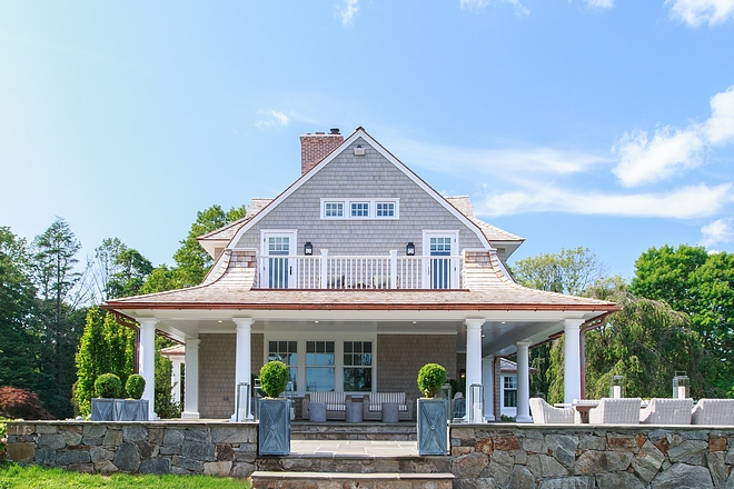 Shingle home roof line inspiration