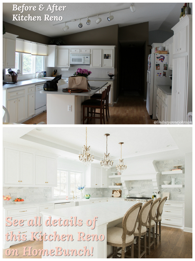 Before and After Kitchen Renovation Diary Sources