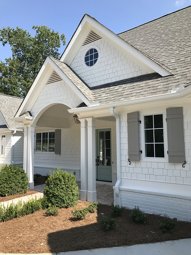 Exterior Color Scheme Paint Color Home Exterior Color scheme Complete exterior color scheme paint color Siding Paint Color Shutter Paint Color Front Door Paint Color source on Home Bunch