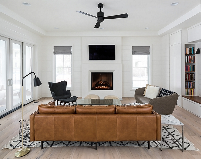 Modern Family Room Furniture Ideas