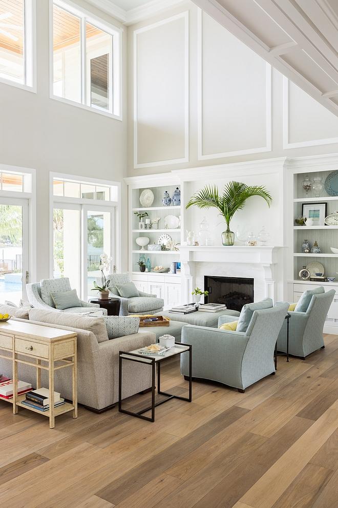 """Hardwood flooring is 7-1/2"""" White Oak Hardwood flooring is 7-1/2"""" White Oak planks"""