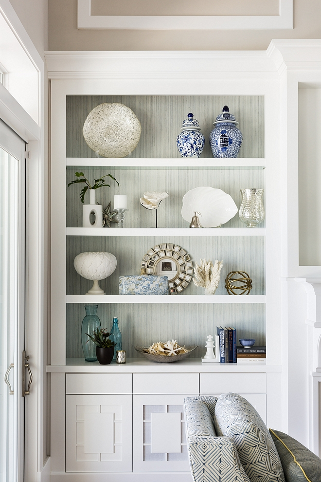 Coastal Bookcase Decor Neutral Coastal Bookcase Decor Bookcase Decor