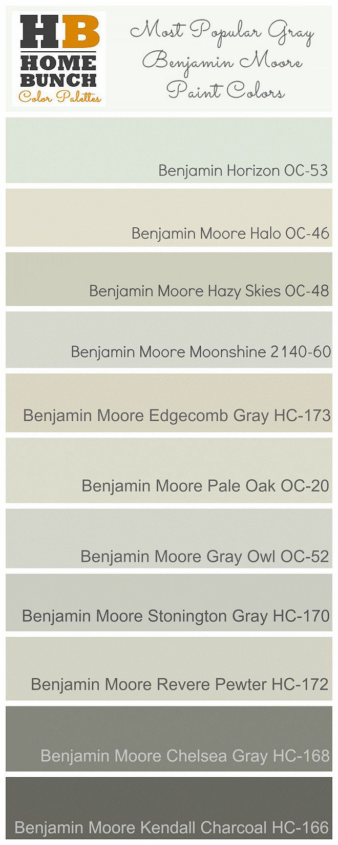 Best Gray paint Colors by Benjamin Moore Revere Pewter Chelsea Gray Stonington Gray Gray Owl Benjamin Moore Grey Paint Colors