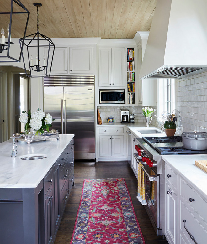 What Color Paint White Kitchen Cabinets: Home Bunch Interior Design Ideas