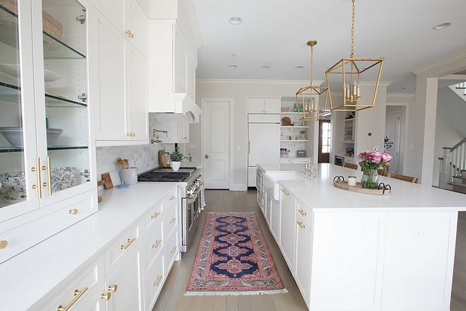 Shaker Kitchen Cabinet White kitchen Shaker Kitchen Cabinet White kitchen Classic Shaker Kitchen Cabinet White kitchen source on Home Bunch