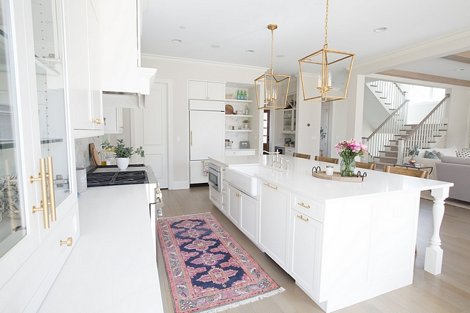 Kitchen runner I can't forget about that gorgeous runner by one of my personal faves, Caitlin Wilson #kitchen #runner #kitchenrunner