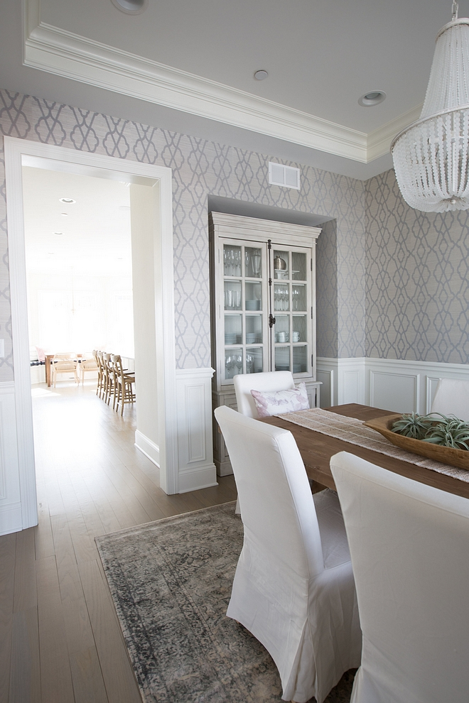 Grey wallpaper ideas Cowtan & Tout Hayworth Trellis