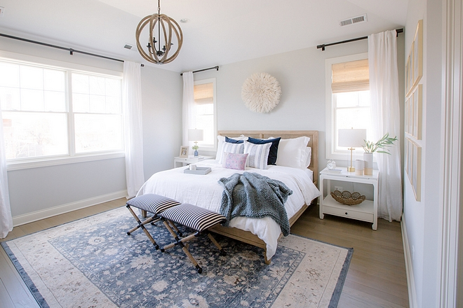 Benjamin Moore Gray Owl bedroom paint color Benjamin Moore Gray Owl bedroom