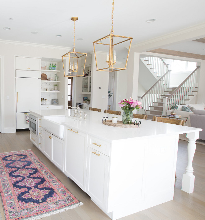 Kitchen Island Design Inspo Kitchen island runner kitchen island farmhouse sink kitchen island brass pendant light kitchen island