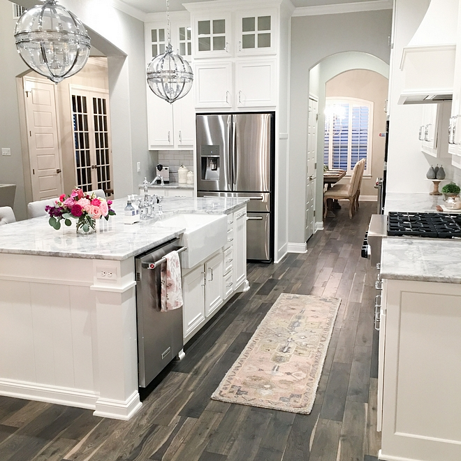 Kitchen hardwood floor Kentwood engineered hardwoods Style Oak Iron Springs Color Wild Thing Kitchen hardwood floor Kitchen hardwood floor