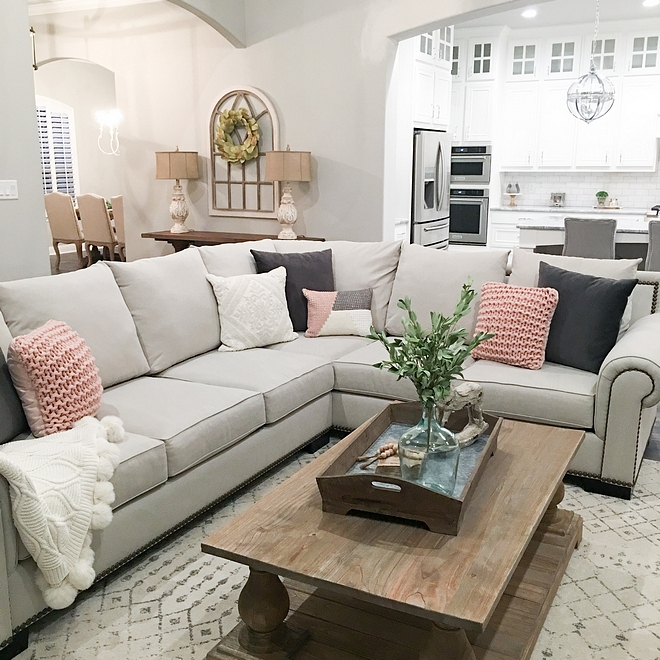 Sectional Living Room Styling Ideas