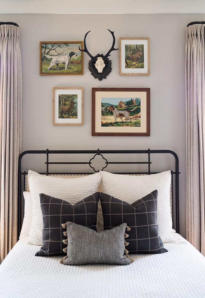 Stonington Gray HC-170 Benjamin Moore Farmhouse bedroom paint color Stonington Gray HC-170 Benjamin Moore Stonington Gray HC-170 Benjamin Moore #StoningtonGrayHC170BenjaminMoore