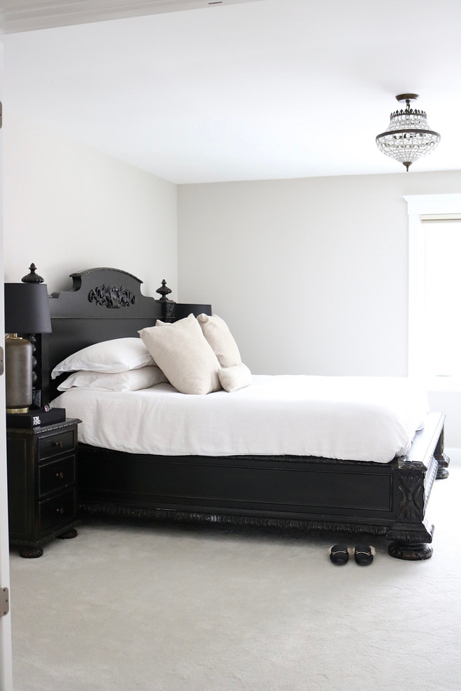 Black Bed Restoration Hardware French Empire Panel Bed Antiqued Black