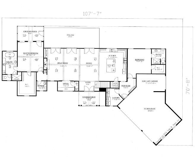 Modern Farmhouse floor plan modern farmhouse main floor floor plan Modern Farmhouse floor plan modern farmhouse main floor floor plan ideas on Home Bunch