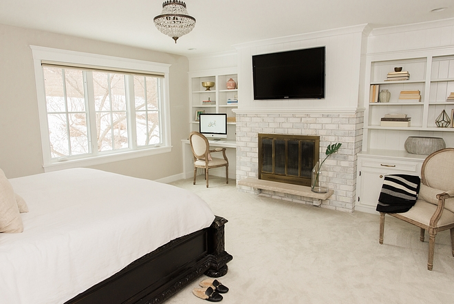 Bedroom fireplace renovation ideas