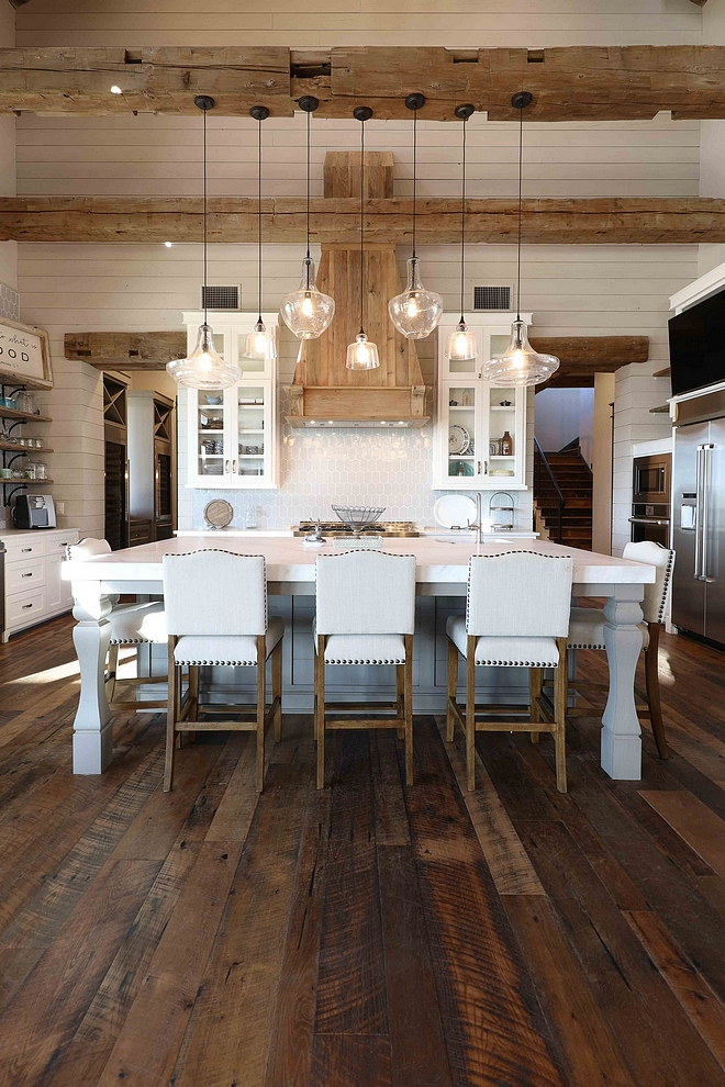 Shiplap Kitchen with rustic old beams and reclaimed hardwood floors Shiplap Kitchen with rustic old beams and reclaimed hardwood floors Shiplap Kitchen with rustic old beams and reclaimed hardwood floors #ShiplapKitchen #rusticoldbeams #rusticbeams #reclaimed #hardwoodfloors