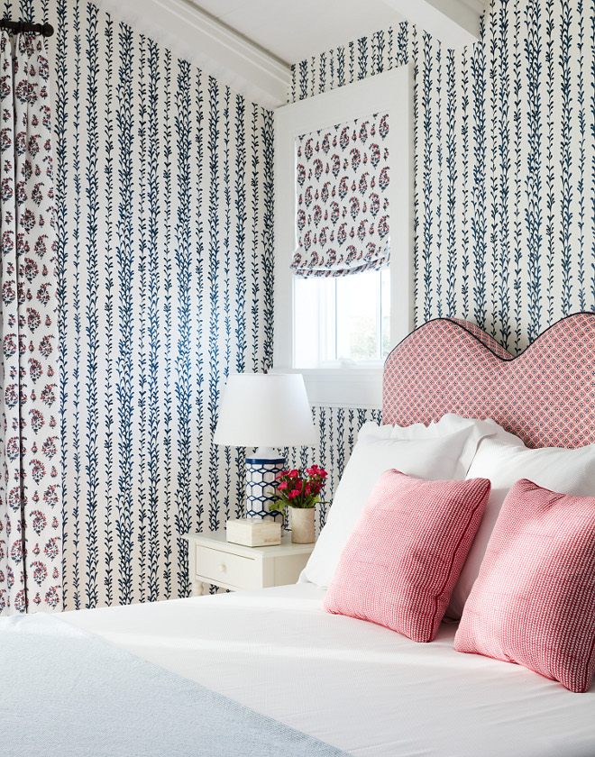Bedroom Wallpaper Clay McLaurein Studio's Weeping Willow in Midnigh #BedroomWallpaper