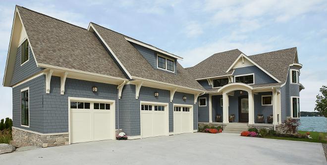 Lakehouse exterior plan