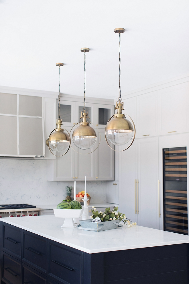 Kitchen Island Lightning Brass and Clear Glass Globe Lighting Kitchen Island Lightning Candelabra Home Leighton Chandelier Brass and Clear Glass Globe Lighting Brass and Clear Glass Globe Lighting source on Home Bunch