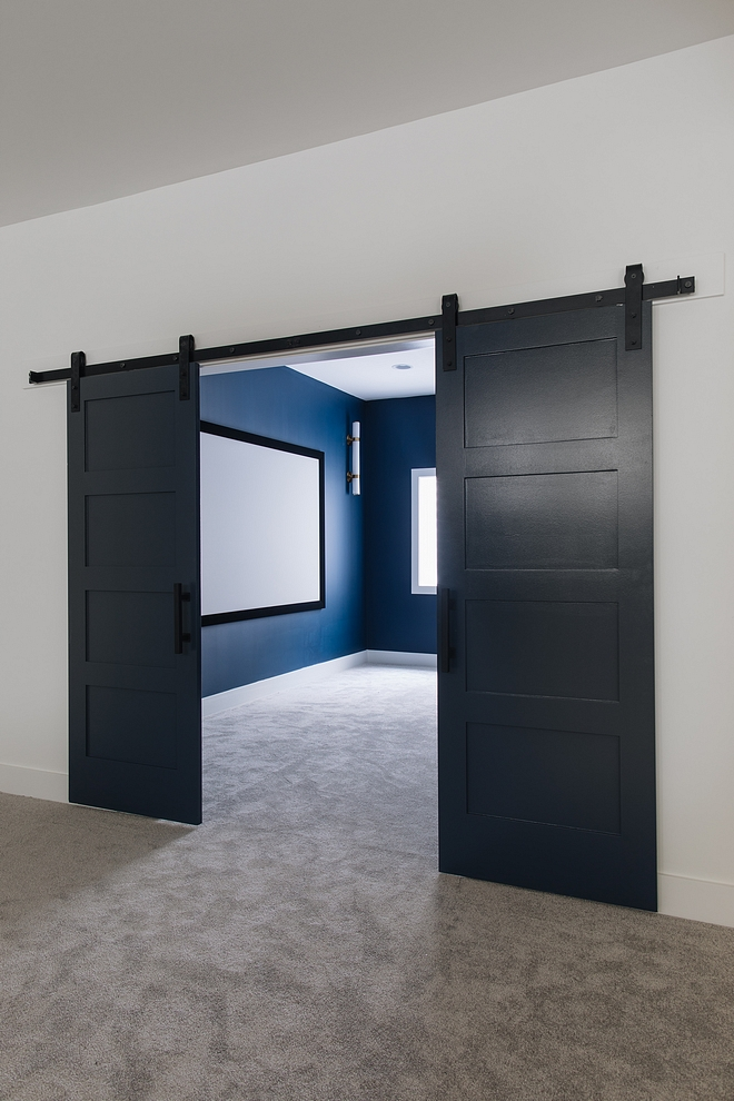 Sherwin Williams Naval Sherwin Williams Naval Barn Doors Paint Color Sherwin Williams Naval #BarnDoors #PaintColor #SherwinWilliamsNaval