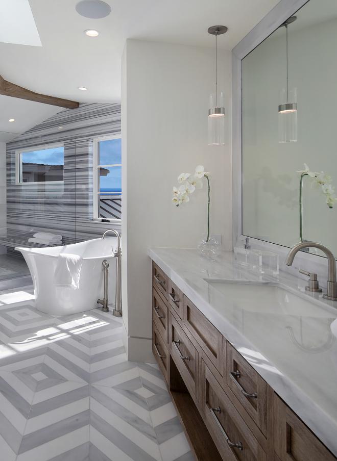 "Bathroom Countertop Kavala Grey Marble Polished 2"" Mitered Edge Kavala Grey Marble Kavala Grey Marble #bathroom #countertop #marble #KavalaGrey #whiteMarble"