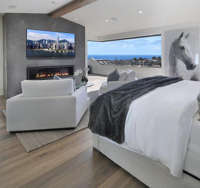 Bedroom Sliding Doors to Balcony with ocean view Dream Bedroom Sliding Doors to Balcony with ocean view #Bedroom #SlidingDoor