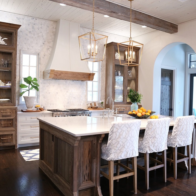 pecky cypress kitchen cabinets determine the right appliance layout for your kitchen 24614
