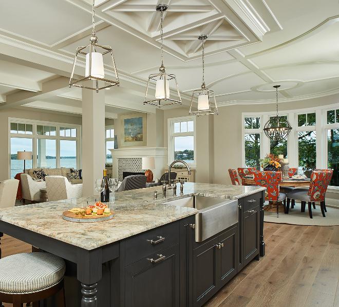 Quartzite Kitchen Island
