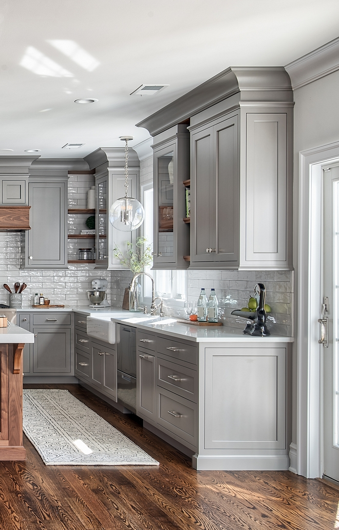 grey kitchen design ideas grey kitchen design home bunch interior design ideas 4073