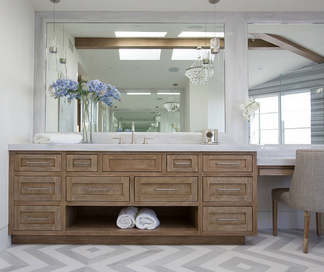 White Oak Bathroom Cabinet Limed Oak Bathroom Cabinet Bathroom cabinet design #bathroomcabinet #bathroom #limedoak