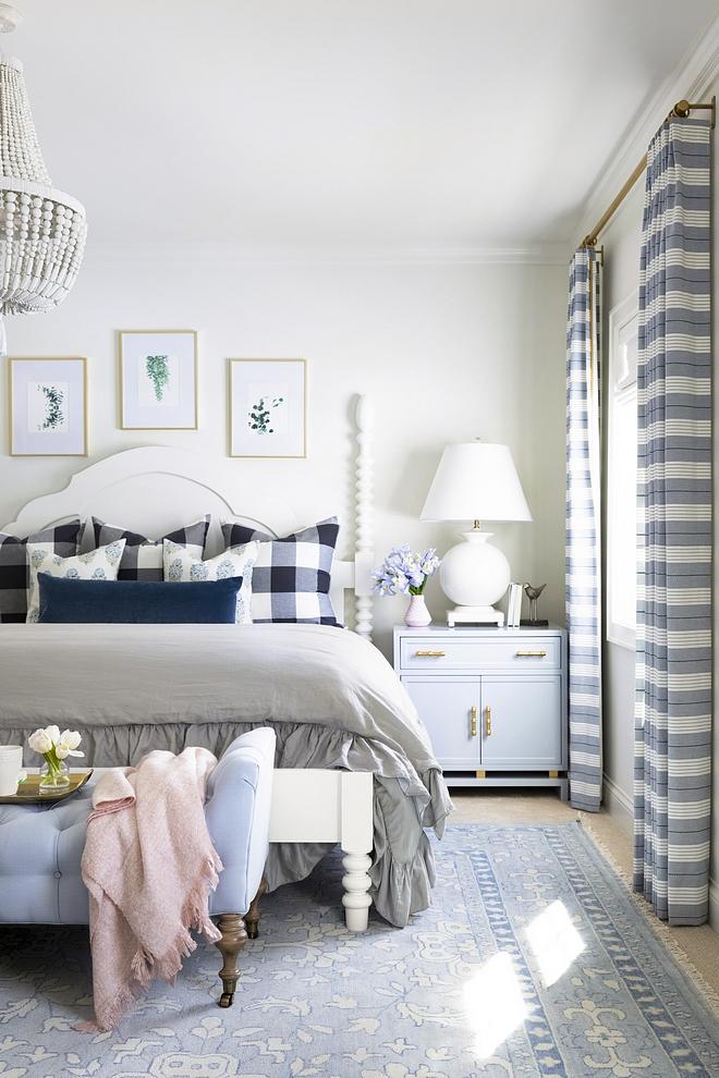 Bedroom Drapes Stripe Drapes Striped Drapes Audrey Stripe by Schumacher #bedroom #drapes #bedroomdrapes #stripedrapes #AudreyStripe #Schumacher