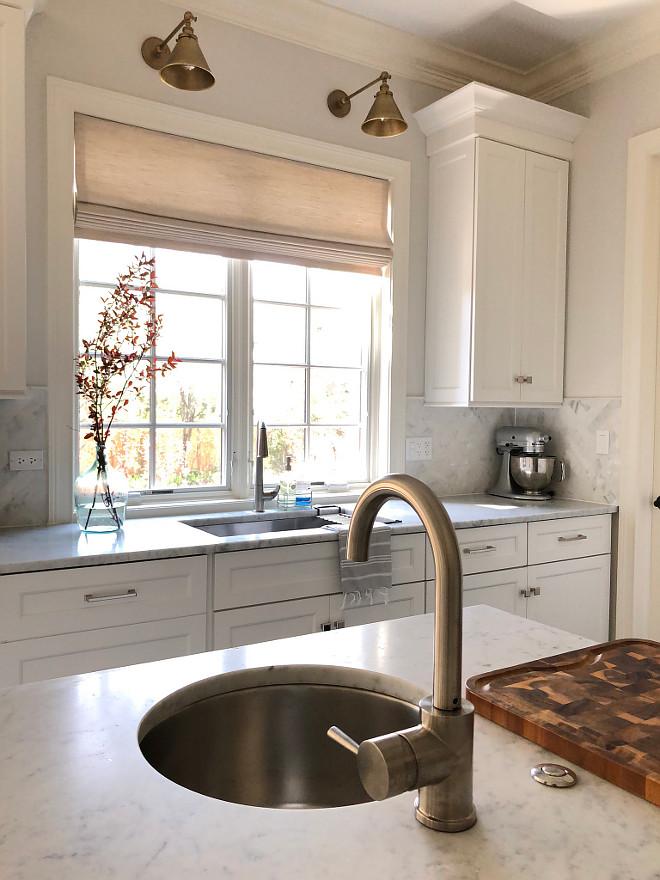 Sconces over kitchen sink Brushed Brass Sconces over kitchen sink Swing Arm Sconces over kitchen sink #Sconcesoverkitchensink #Sconceskitchensink #SwingArmSconce #BrushedBrassSconce