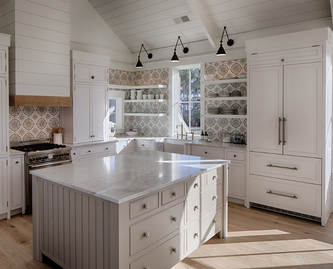 Benjamin Moore Pashmina AF-100 grey paint color grey cabinet grey kitchen island paint color Benjamin Moore Pashmina AF-100 #BenjaminMoorePashminaAF100 #BenjaminMoorePashmina #BenjaminMoore #Pashmina #greycabinet #paintcolors #BenjaminMoorepaintcolors