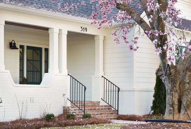 Home bunch interior design ideas - Benjamin moore white dove exterior ...