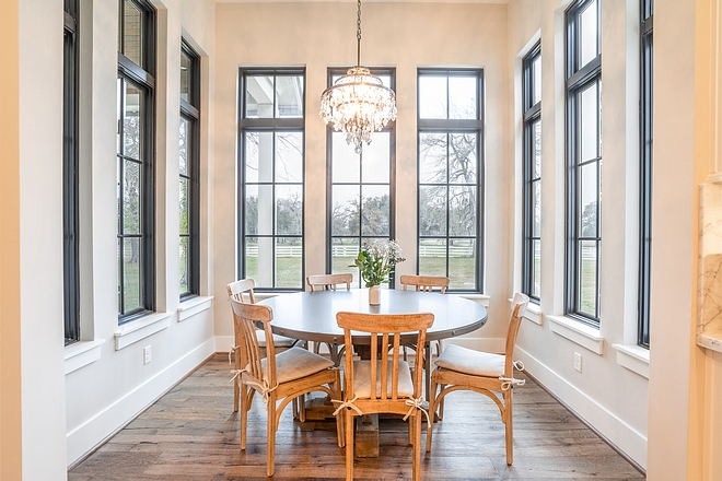 Breakfast room with black windows Breakfast room black window indeas Breakfast room with black windows Breakfast room with black windows #Breakfastroom #blackwindows