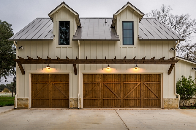 Modern Farmhouse Garage Rafters Metal Roof Farmhouse Garage Rafters Metal Roof Modern Farmhouse Garage Rafters Metal Roof #ModernFarmhouseGarage #farmhousegarage #garageRafters #MetalRoof