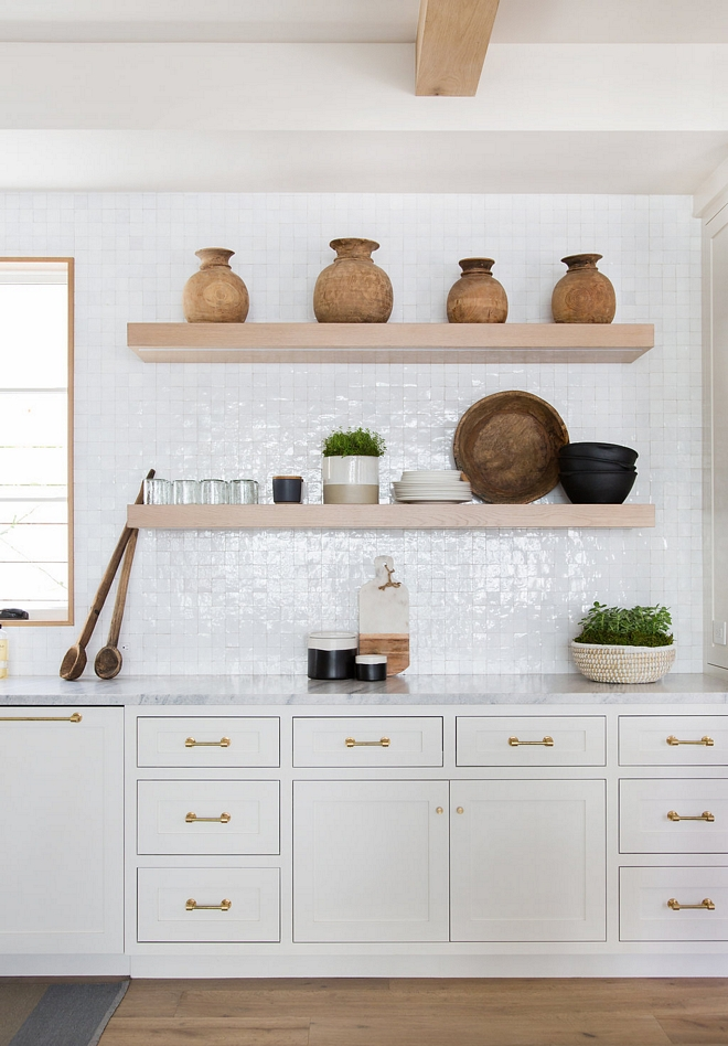 Farrow and Ball Strong White Off white kitchen cabinet off white Farrow and Ball Strong White paint color #FarrowandBallStrongWhite #offwhitepaintcolor