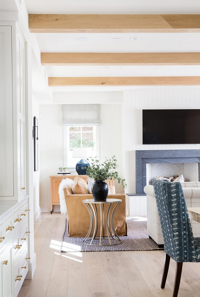 Rift Oak Ceiling Beams and White Oak Hardwood Flooring Rift Oak Ceiling Beams and White Oak Flooring Ideas #RiftOakBeams #WhiteOakHardwoodFlooring